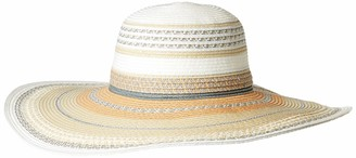 Vince Camuto Women's Woven Paper Straw Floppy hat