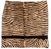 Valentino Ponyhair Mini Skirt