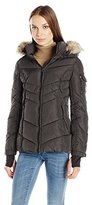 Madden-Girl Women's Puffer Jacket