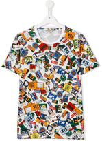 Kenzo Sign Street T-shirt - kids - Cotton - 14 yrs