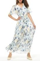 Gal Meets Glam Kiki Chiffon Maxi Dress