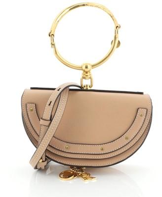 Chloé Nile Crossbody Bag Leather Mini
