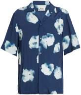 Acne Studios Elms short-sleeved floral-print shirt