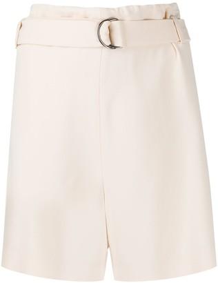 Brunello Cucinelli Belted Waist Shorts