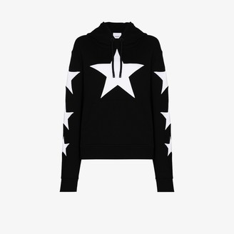 Burberry Poulter star print hoodie