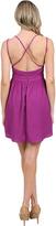 6 Shore Road Rich Port Mini Dress in Vino