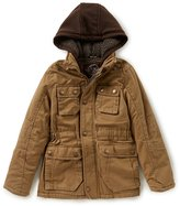 Urban Republic Big Boys 8-20 Hooded Twill Jacket
