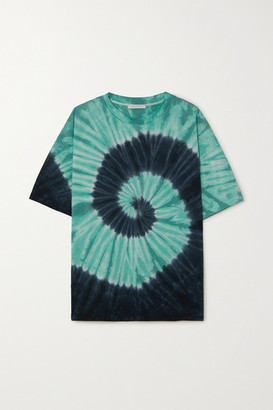 Ninety Percent Net Sustain Tie-dyed Organic Cotton-jersey T-shirt - Blue