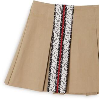 Burberry Kids Box-Pleat Skirt (6-24 Months)