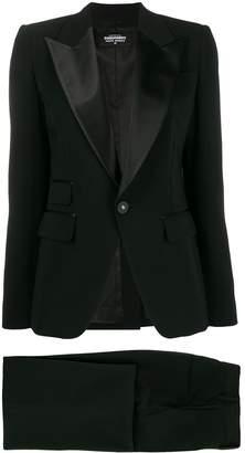 DSQUARED2 satin lapel evening suit