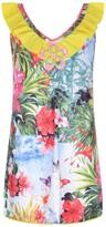 Pate De Sable Exotic Print Beach Dress