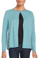 Lafayette 148 New York Relax Long Sleeve Cardigan