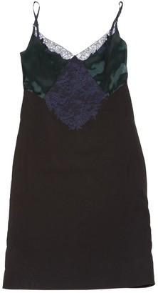 Nina Ricci Green Silk Dress for Women