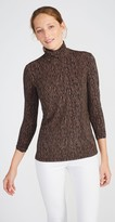 J.Mclaughlin Nora Turtleneck in Woody