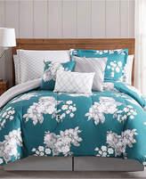 Pem America Peony Garden Floral 12-Pc. King Bed Ensemble Bedding