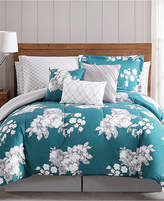 Pem America Peony Garden Floral 12-Pc. King Bed Ensemble