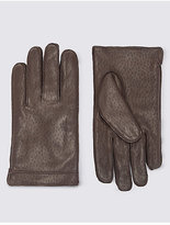 Collezione Italian Leather Gloves With Thinsulatetm