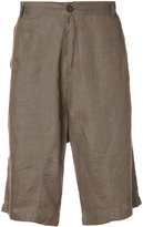 Denis Colomb Raj shorts - men - Linen/Flax - S