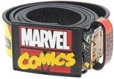 Marvel Mens Superhero Belt Waistband Waist Strap Metal Buckle