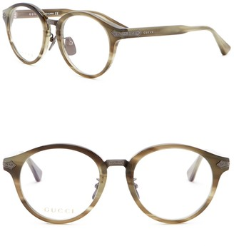 Gucci 50mm Round Optical Frames