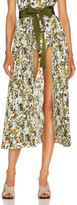 Silvia Tcherassi Blanche Skirt Pareo in Camouflage | FWRD