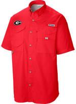 Columbia Men's Georgia Bulldogs College Tamiami Short-Sleeve Shirt