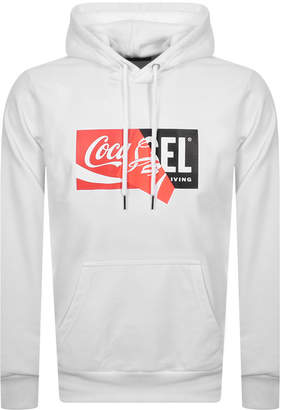 Diesel X Coca Cola ReCollection Hoodie White