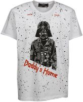 Dom Rebel Domrebel Daddy's Home Print T-shirt