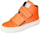Maison Margiela Velcro High Top Sneakers