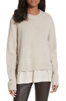 Joseph Women's Layer Look Wool Blend Sweater