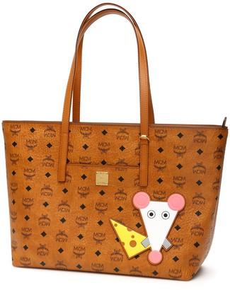 MCM Anya Visetos Tote Bag Year Of The Mouse