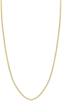 Bony Levy 14K Yellow Gold Flat Chain Necklace