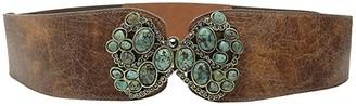 Leather Rock 1556 (Cognac) Women's Belts