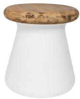 Safavieh Button Concrete Accent Table