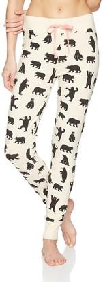 Hatley Little Blue House Women's Pyjama Leggings Bottoms