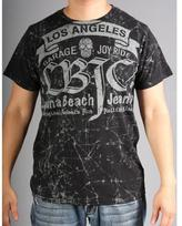 Laguna Beach Jean Co. Laguna Beach Jeans Men's 'Balboa Beach' Black Graphic Tee