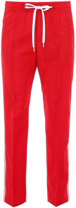 Miu Miu Side Bands Track Pants