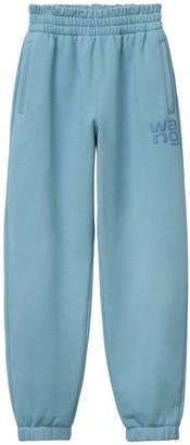 Alexander Wang Logo Stretch Cotton Sweatpants