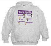 CafePress - Full House Character Collage - Kids Hooded Sweatshirt, Classic Hoodie
