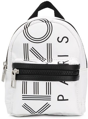 Kenzo Small Logo-Print Backpack