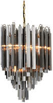 Eichholtz Salerno Chandelier - Smoked Glass