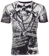 Affliction Xtreme Couture Mens T-Shirt KILLER Skull Tattoo Biker