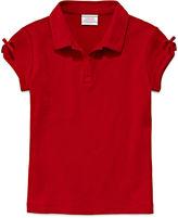 IZOD EXCLUSIVE IZOD Short-Sleeve Bow Polo - Preschool Girls 4-6x