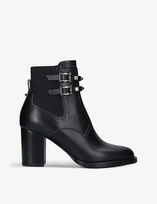 Valentino Rockstud Beatle leather heeled boots
