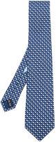 Salvatore Ferragamo polar bear print tie