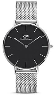Daniel Wellington Petite Sterling Mesh Bracelet Watch, 36mm