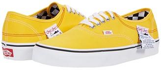 Vans Authentictm HC ((DIY) Lemon Chrome/True White) Athletic Shoes
