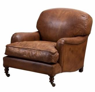 Eichholtz Highbury Tobacco Leather Club Chair