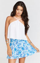MUMU Skater Stretch Skirt ~ Mama Blues