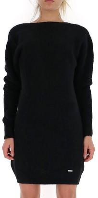 DSQUARED2 V-Back Sweater Dress